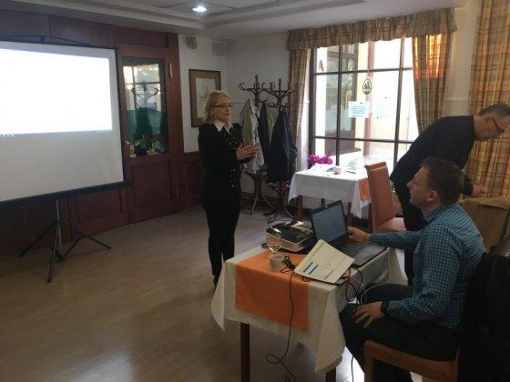 """Školenie """"Postupy MAS v zmysle príručky pre prijímateľa NFP pre opatrenie 19 Podpora na miestny rozvoj v rámci iniciatívy LEADER"""""""
