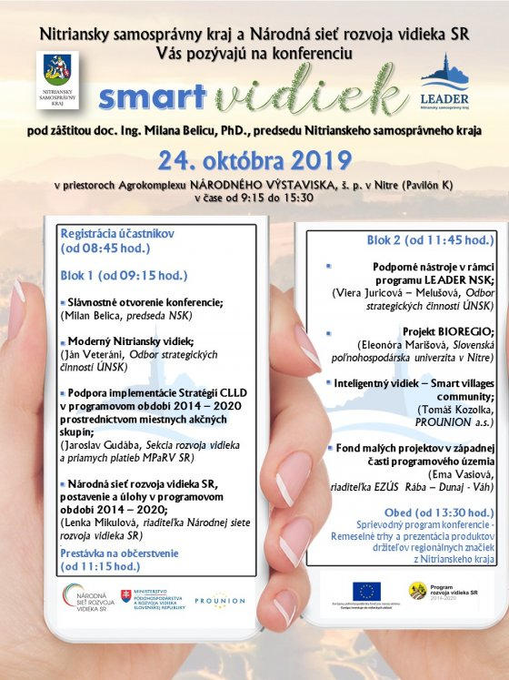 """Regionálna konferencia """"smart vidiek"""""""
