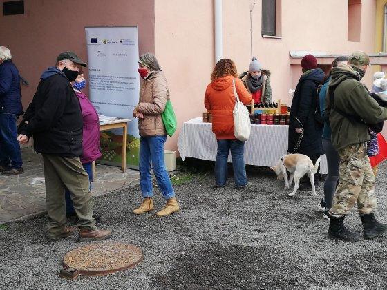 Gazdovský trh v obci Bátovce